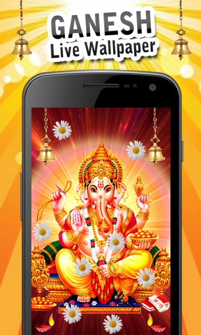 Ganesh Live Wallpaper New Android App APK by Gigo Multimedia