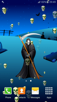 Grim Reaper Live Wallpapers free APK android app - Android Freeware