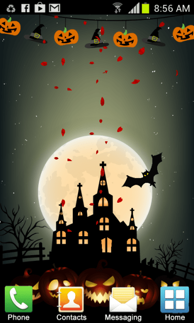 Halloween Live Wallpaper New Android App APK by Noor Media Apps
