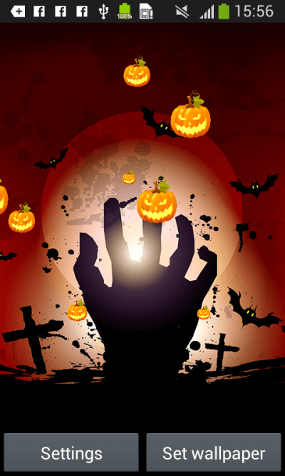 Halloween Live Wallpapers Free free APK android app - Android Freeware