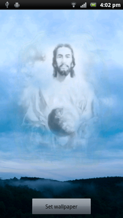 Jesus Christ Live Wallpaper Android App - Free APK by ...