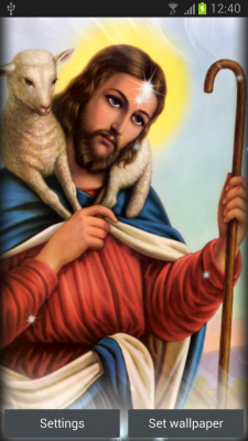 Jesus Live Wallpaper Free Android App - Free APK by Milan