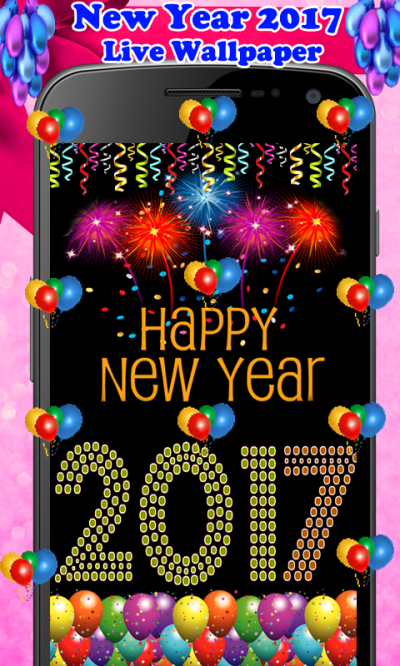 New Year 2017 Live Wallpaper Android App - Free APK by BarkatMobileApps