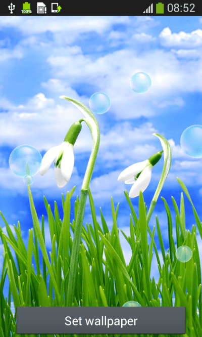 Spring Live Wallpapers Free Android App APK by Popular Melodies