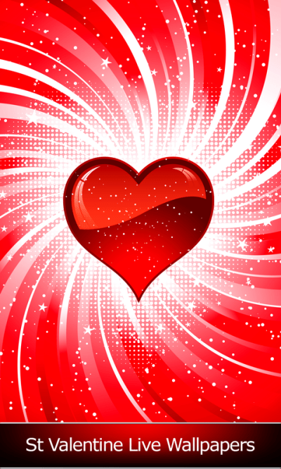 St Valentine Live Wallpapers Android App APK by Blue Jay Soft