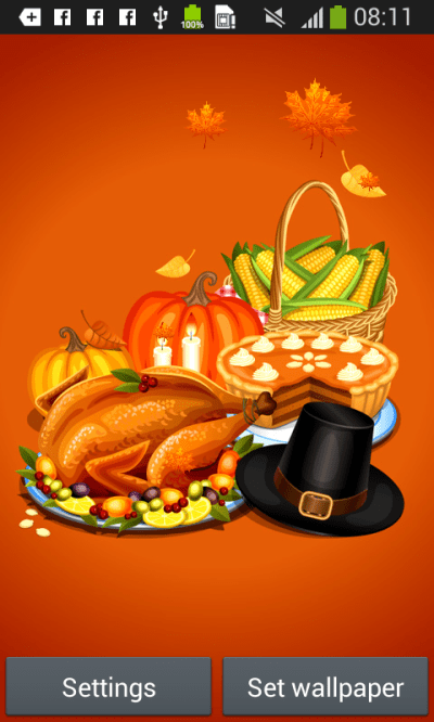 Thanksgiving Live Wallpaper Android Apps on Google Play