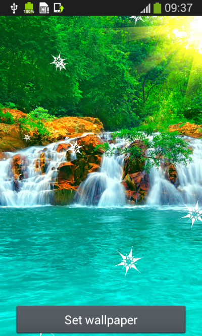 Waterfall Live Wallpapers Free Android App APK by Popular Melodies