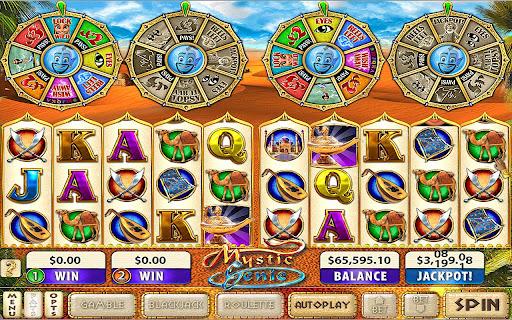 Mystic Genie Slots v10.74 APK