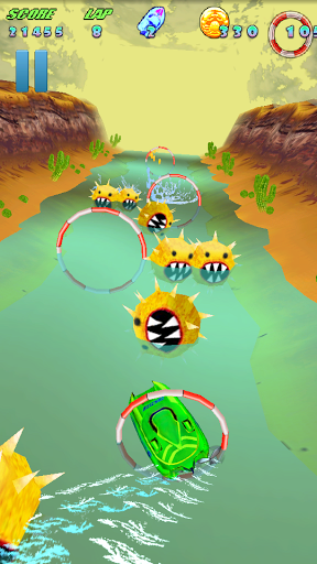 Turbo River Racing Pd v1.00 APK