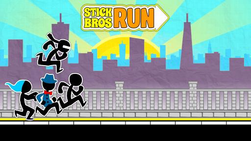 Stick Bros Run: Running Game