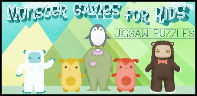 Monster Games for Kids: Puzzle