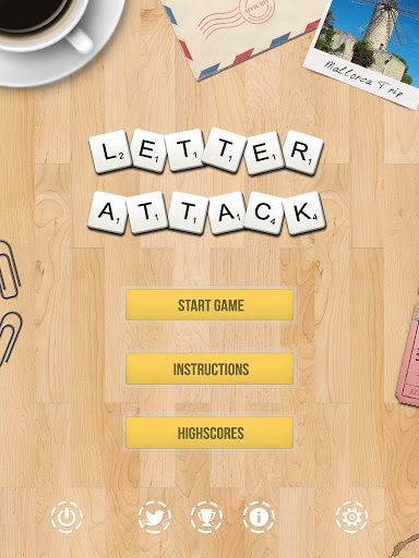 Letter Attack (Word Search)
