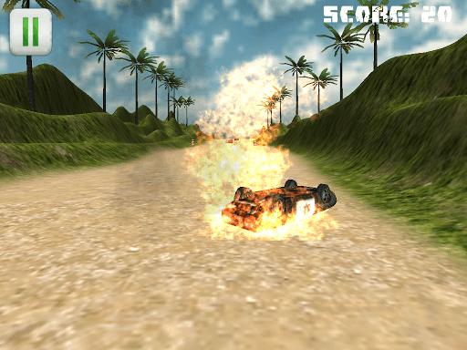 Dirt Police Car Chase Nitro 3D