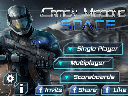Critical Missions: SPACE