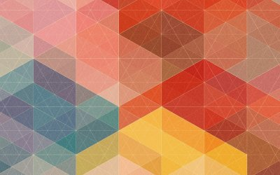 50 rich and colorful geometric wallpapers for your mobile devices (HD and QHD resolution)