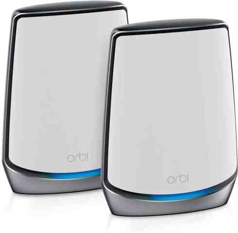 NETGEAR Orbi Whole Home Tri Band Mesh WiFi 6 System