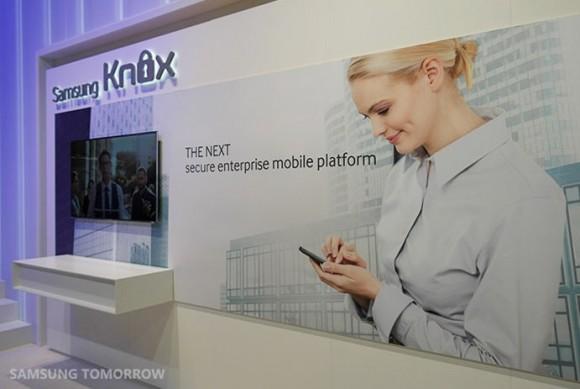 Rilasciato Samsung KNOX 2.0