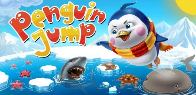 Penguin Jump Ice Racing