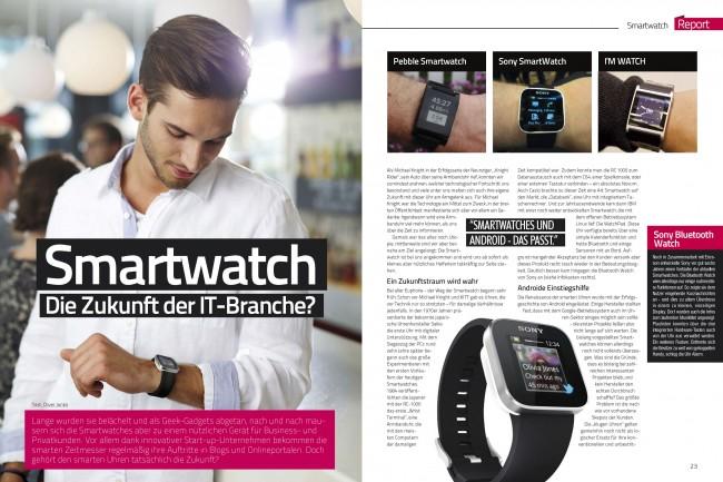 Report Smartwatches (2 von 4 Seiten)
