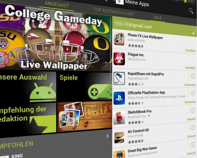 Play Store: Bald sicherer aufgrund gesperrter Apps? (Foto: androidnext.de)