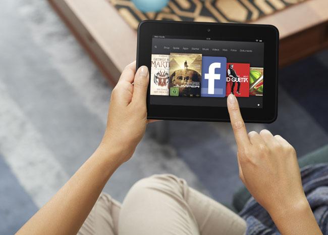 Das Kindle Fire HD ist ab sofort in 170 Ländern vorbestellbar. Foto: Amazon.