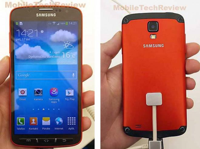 Das Galaxy S4 Active ist - laut Herstellerangaben - komplett wasserfest.
