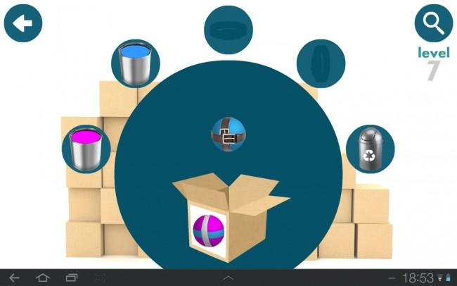 In Factory Balls gilt es den richtigen Ball mittels Hilfsmittel wie Farben und Co. herzustellen.