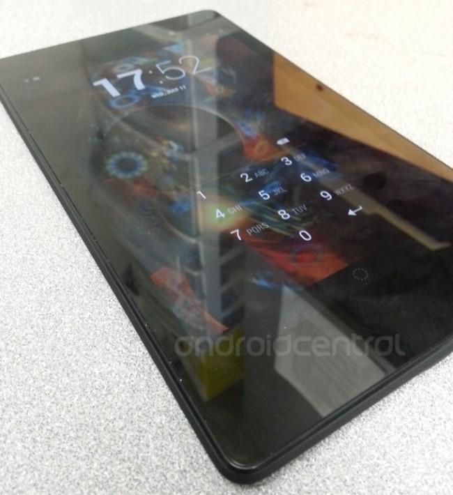 Die zweite Generation des Nexus 7 soll mit einer Front Kamera auf den Markt kommen. Foto: Android Central.