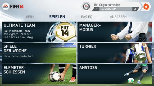 """Die Spielmodi """"Manager"""", """"Turnier"""" oder """"Anstoss"""" musst du per 5,39 Euro teurem In-App-Kauf freischalten."""