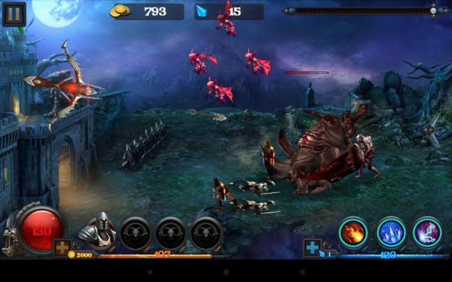 Eine Armee von Untoten greift in dem Spiel Hell Zombie eine Burg an, die du mit Hilfe von Armbrust, Rittern und Zaubersprüchen beschützen sollst.