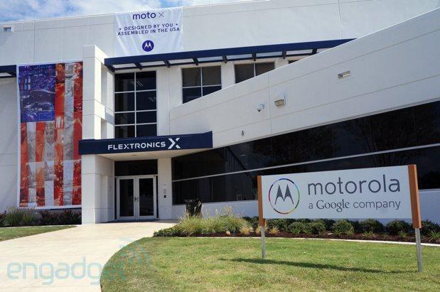 Motorola war bei der Dekoration seiner Produktionsstätte alles andere als zimperlich (Bildquelle: Engadget)