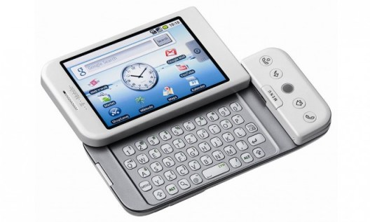 Das T-Mobile G1, aka HTC Dream, war der erste Androide der Welt. (Bild: Connect)