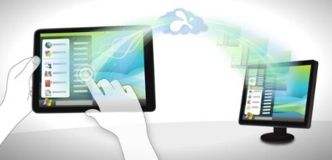Der Nutzer kann mit der App seinen Computer über ein Tablet steuern. (Quelle: nerdsmagazine.com)