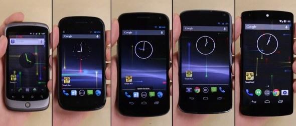 PhoneBuff hat alle Nexus Geräte in einem Videovergleich verglichen und zeigt die Performanceunterschiede der einzelnen Geräte. Foto: Phonebuff.