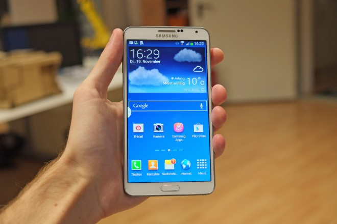 Ein wahrer Kassenschlager: Das Galaxy Note 3. Kann Samsung den Erfolg mit der vierten Auflage wiederholen? (Bild: Androidmag.de)