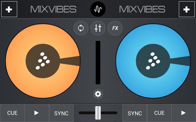 Mit Cross DJ holst du dir das Mischpult direkt aufs Smartphone oder Tablet.