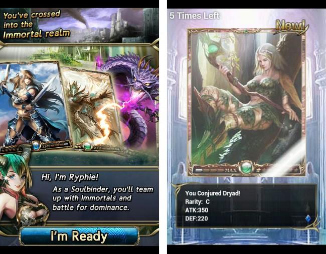 Bei Immortalis handelt es sich um ein sogenanntes Trading-Card-Game.