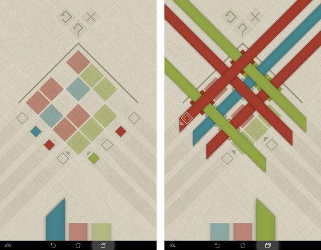 Vor allem die großen Levels mit vielen Farben stellen eine große Herausforderung dar.