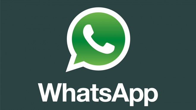Whatsapp Logo mit Text