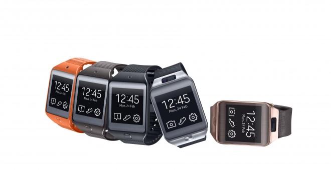 Laut Samsung ein großer Trend 2015: Wearables wie etwa Smartwatches.