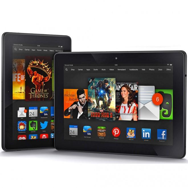 Amazon ist kein Unbekannter im Tablet-Markt. Hier zu sehen: Das Amazon Kindle Fire HDX.