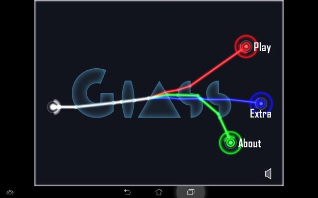 Das Prisma zerteilt den Lichtstrahl in seine einzelnen Elemente: Rot, Grün und Blau.