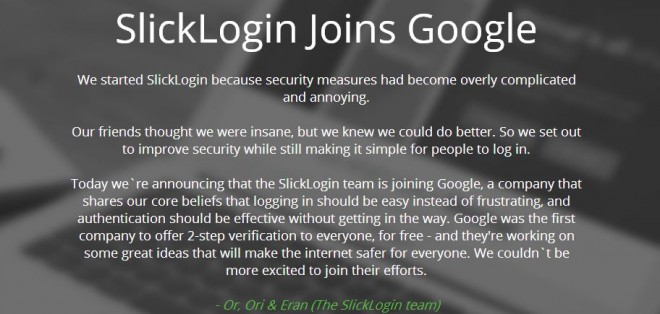 SlickLogin-Google