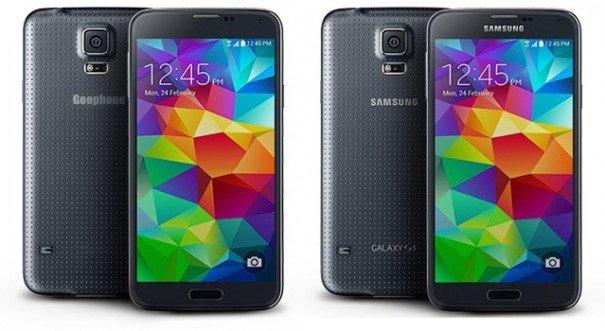 Bereits wenige Stunden nach der Vorstellung gibt es schon den ersten Klon des Galaxy S5.