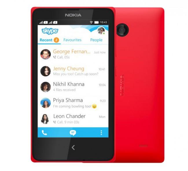 Das Nokia X soll schon für knapp 100 Euro den Besitzer wechseln. (Foto: Nokia)
