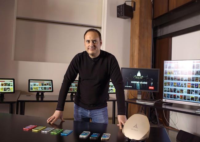 Steve Perlman gründete vor kurzem Artemis, ein Unternehmen, das die neue schnelle Übertragungstechnologie vermarkten soll. (Foto: Artemis)