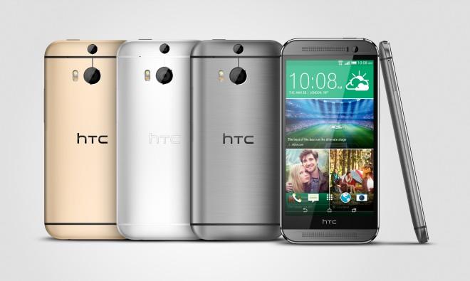 Das HTC One (M8): Die BoomSound Stereo-Lautsprecher ziehen das Smartphone eindeutig in die Länge.