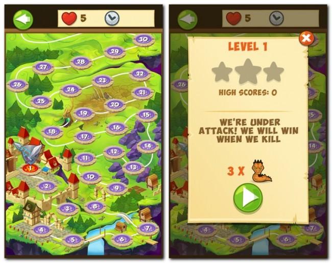 Aus grafischer Sicht passt Puzzle Defense gut ins Umfeld. Das im Comicstil gehaltene Spiel sieht passabel aus, der Sound ist – wie von HeroCraft gewohnt – hervorragend.
