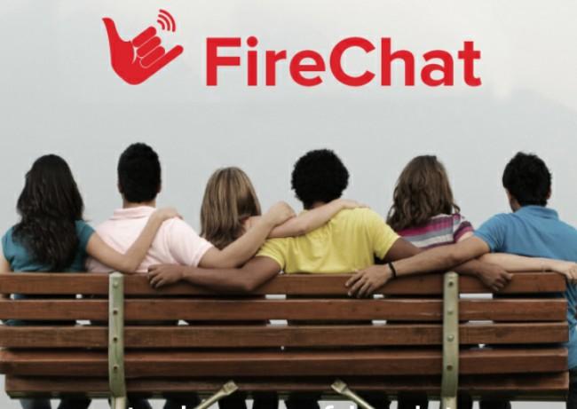 Der Datenaustausch in FireChat läuft über ein Mesh-Netzwerk ab. Das ist ein vermaschtes Netz, in dem jeder Netzwerkknoten mit einem oder mehreren anderen verbunden ist.
