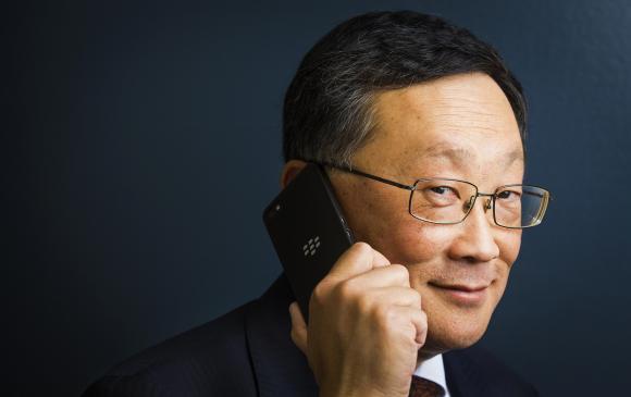 BlackBerry CEO John Chen gibt alles um BlackBerry zu erhalten. (Foto: Reuters)